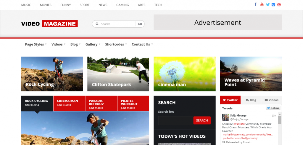 Download Video WordPress Theme