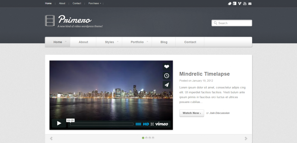 Download Video WordPress Themes