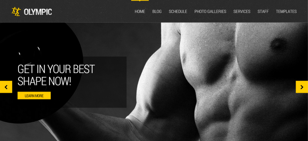 Fitness Theme for WordPress