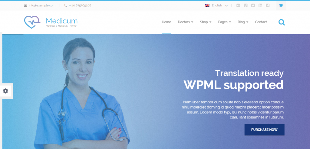 Free Medical and Health WordPress Themes