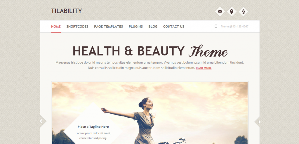 New Health and Medical WordPress Theme