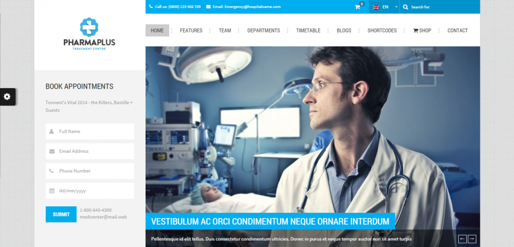 New Medical and Health WordPress Themes