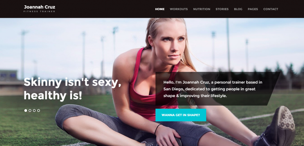 New Sport and Fitness WordPress Templates
