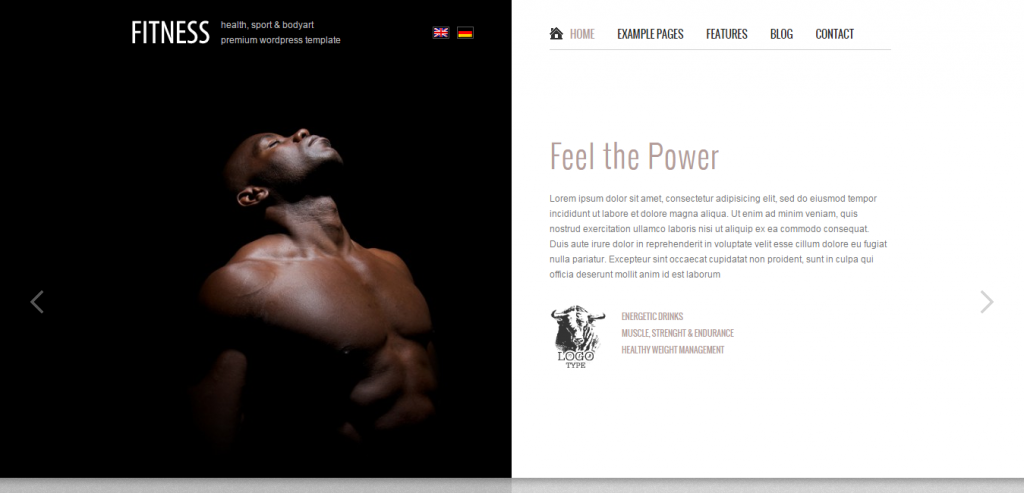 New Sport and Fitness WordPress Themes