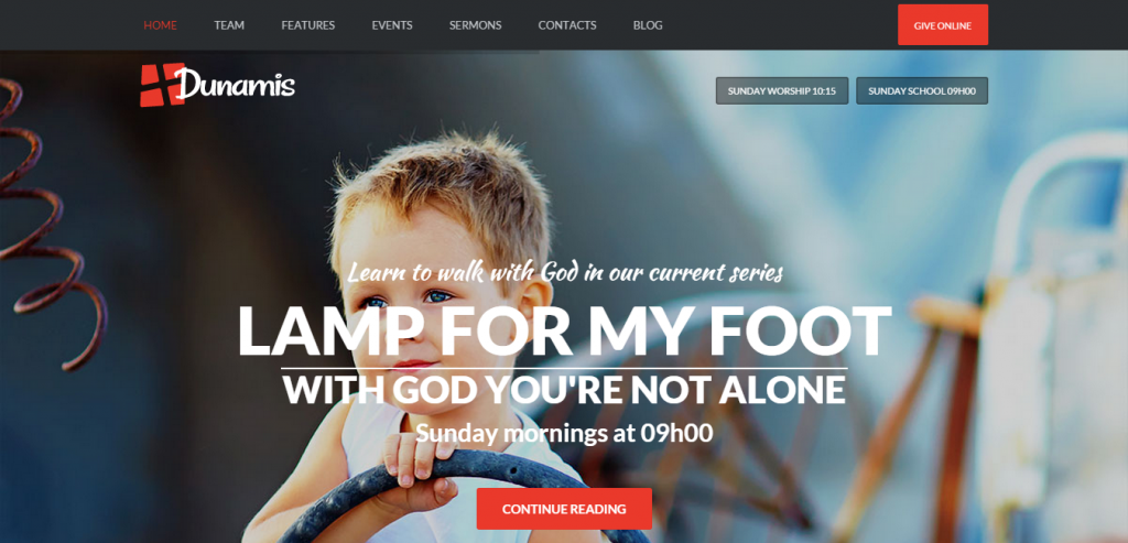 New WordPress Church Themes
