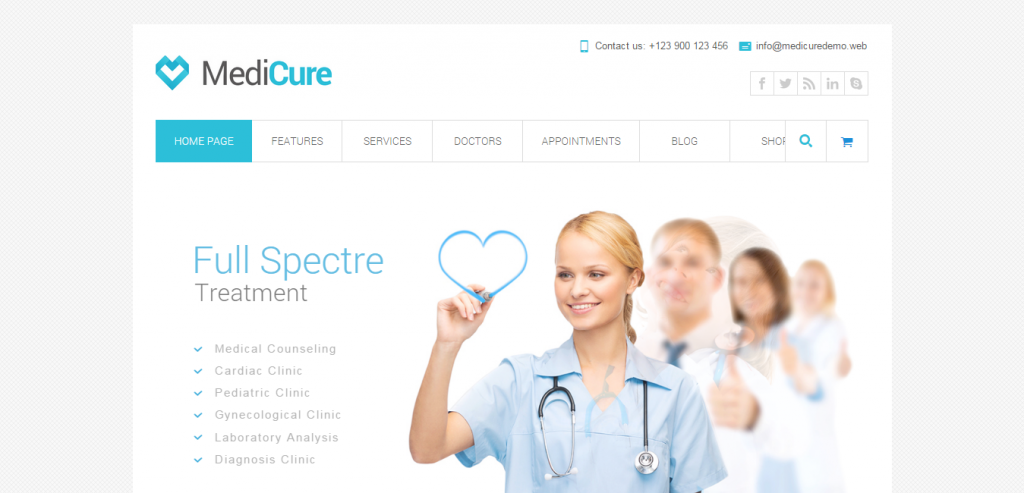 Premium Medical and Health WordPress Theme