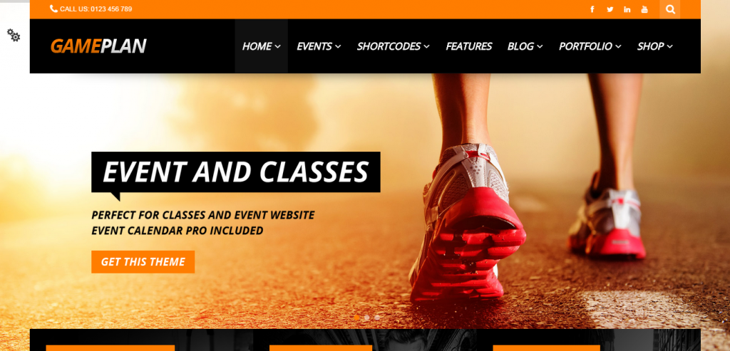 Premium Sport and Fitness WordPress Themes