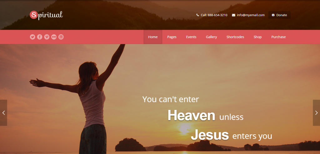 Premium WordPress Church Themes