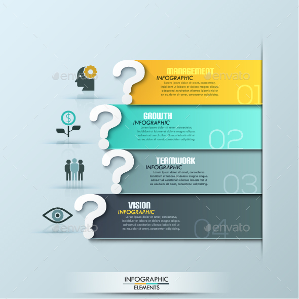 Questions Infographic Template