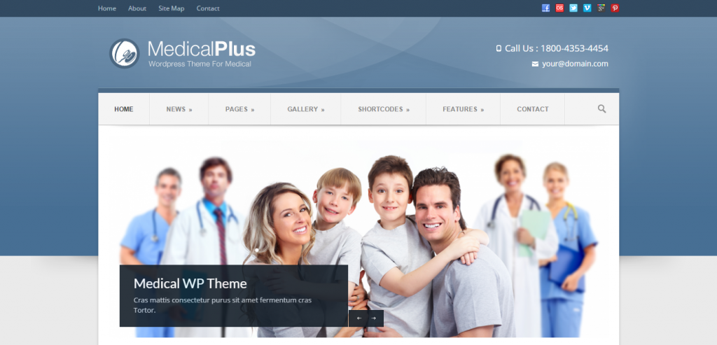 Responsive Health and Medical WordPress Themes