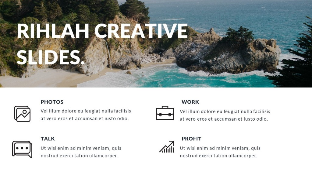Rihlah Creative Slides Powerpoint
