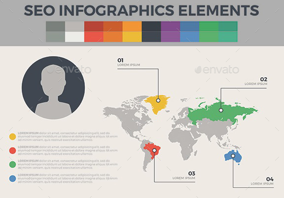Seo Infographic Elements