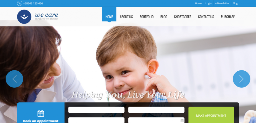 Top Health and Medical WordPress Theme
