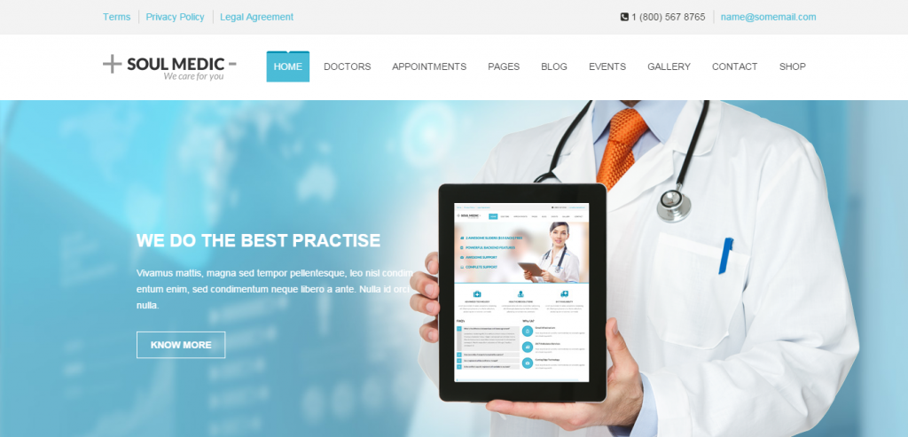 Top Medical and Health WordPress Theme