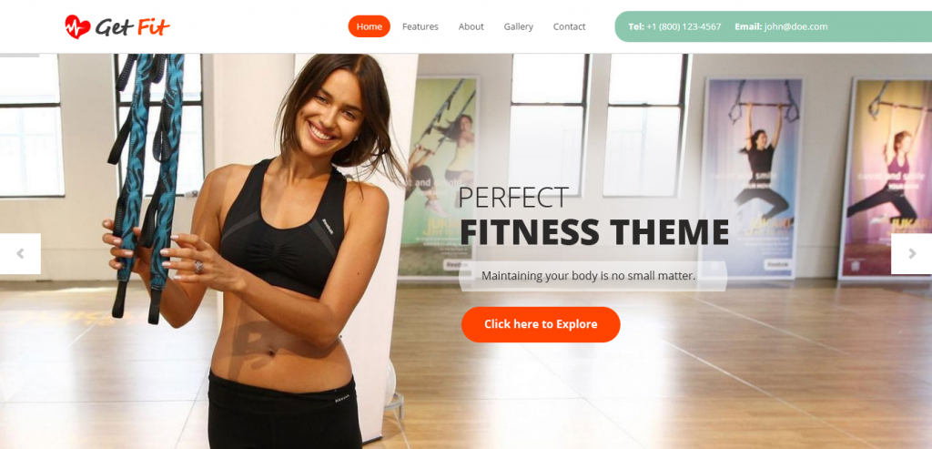 Top Sport and Fitness WordPress Themes