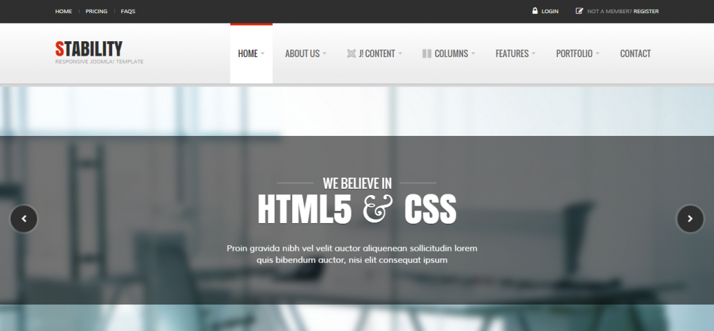 Best Business Joomla Theme