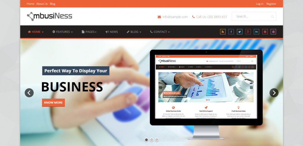 Best Business Joomla Themes