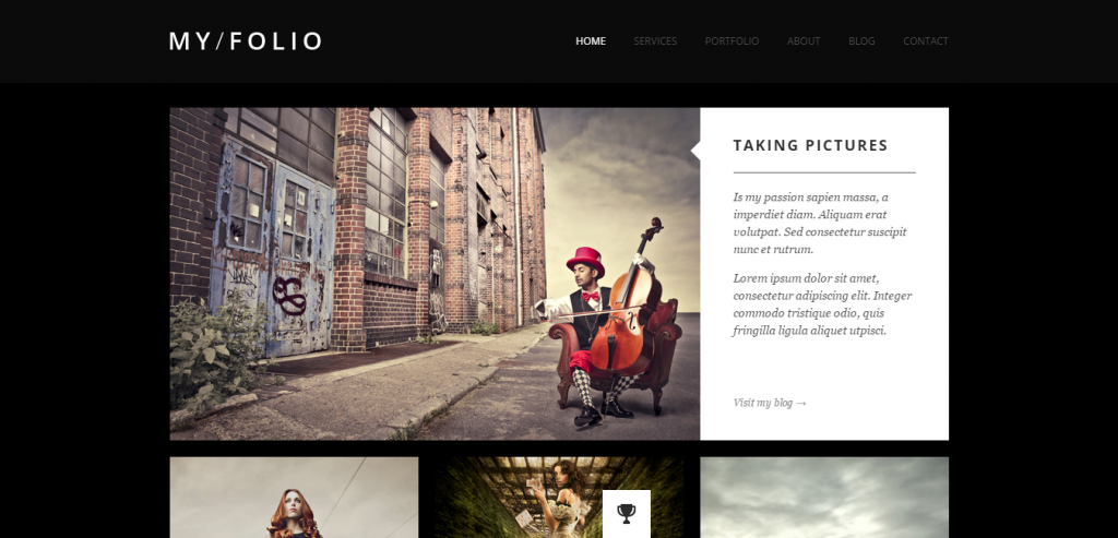 Best HTML Photography Templates