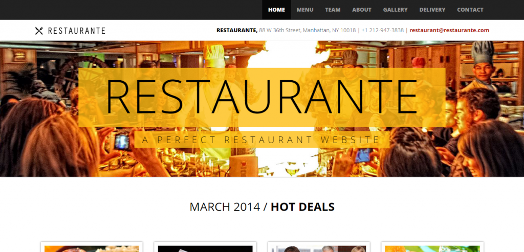 Best HTML Restaurant Templates