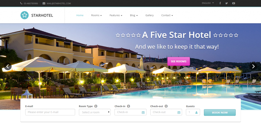 Best Hotels HTML Template