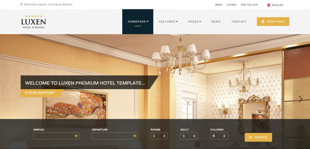Best Hotels HTML Templates