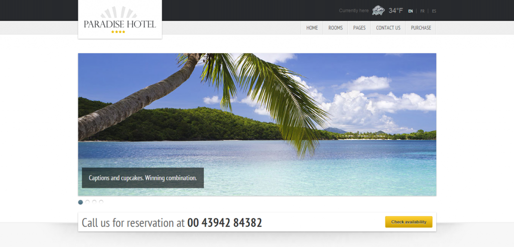 Best Hotels HTML Theme