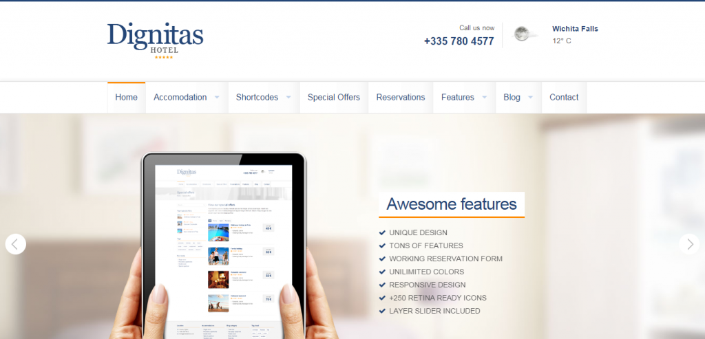 Best Hotels HTML Themes
