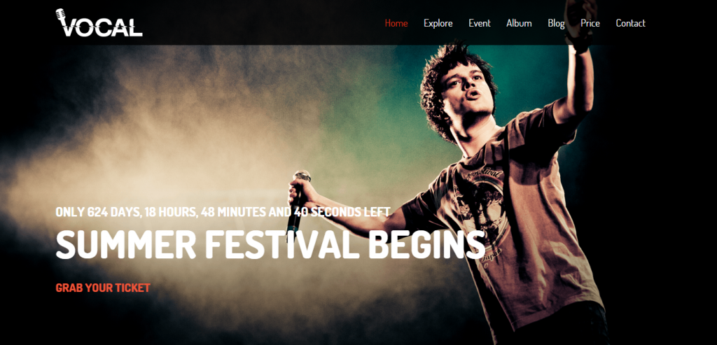 Best Music HTML Template