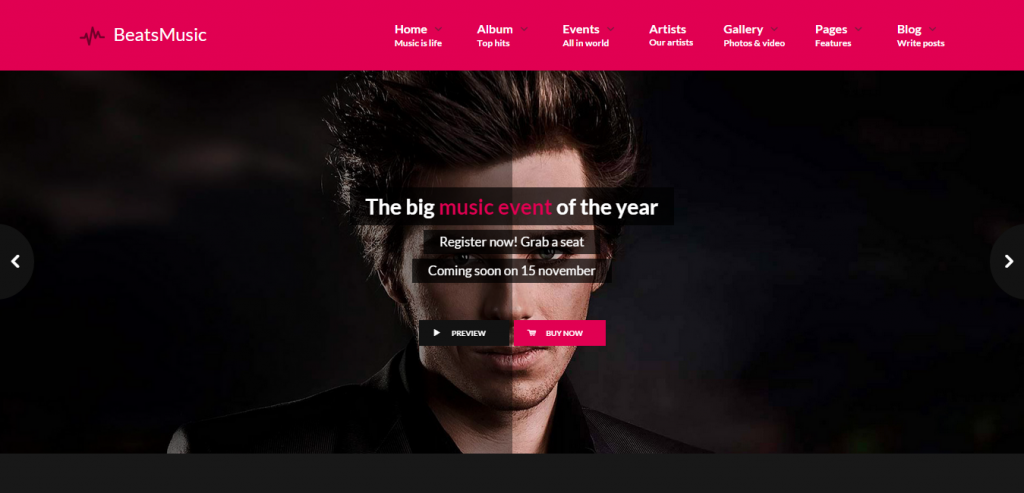 Best Music HTML Templates