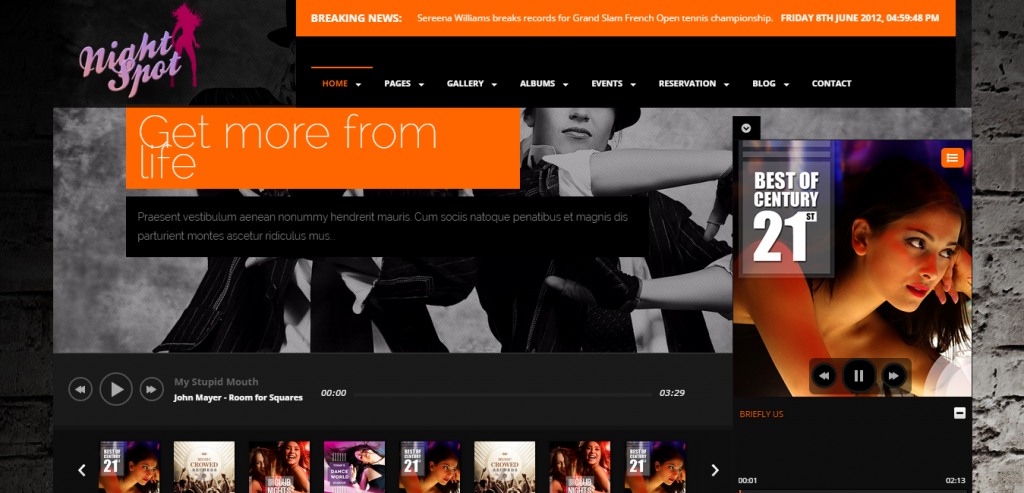 Best Music HTML Themes