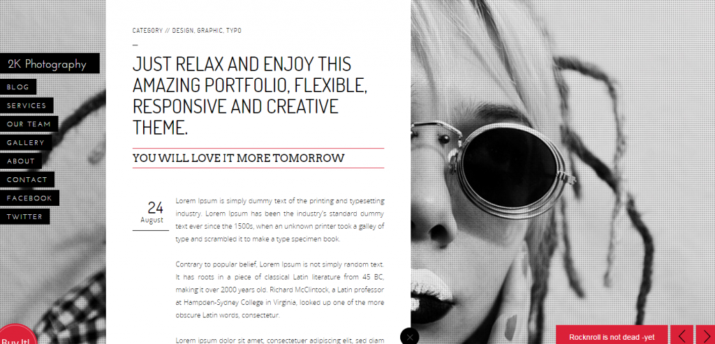 Best Photography HTML Theme