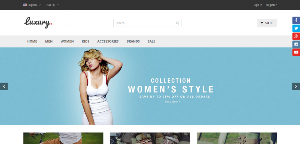 Best PrestaShop Responsive Templates