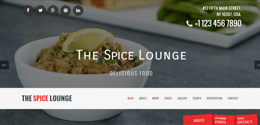 Best Restaurant HTML Templates