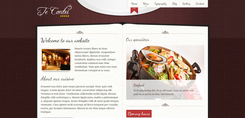 Best Restaurant HTML Theme