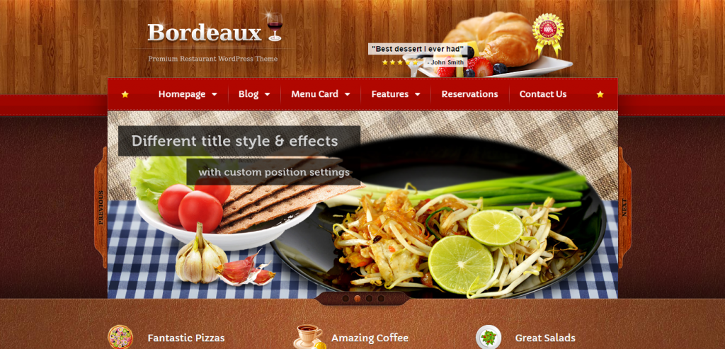 Best Restaurant HTML Themes