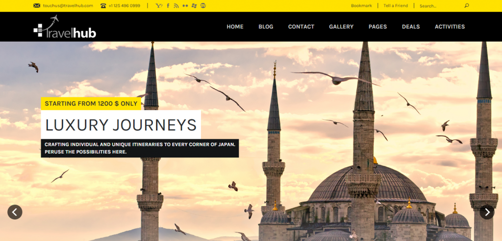 Best Travel HTML Template