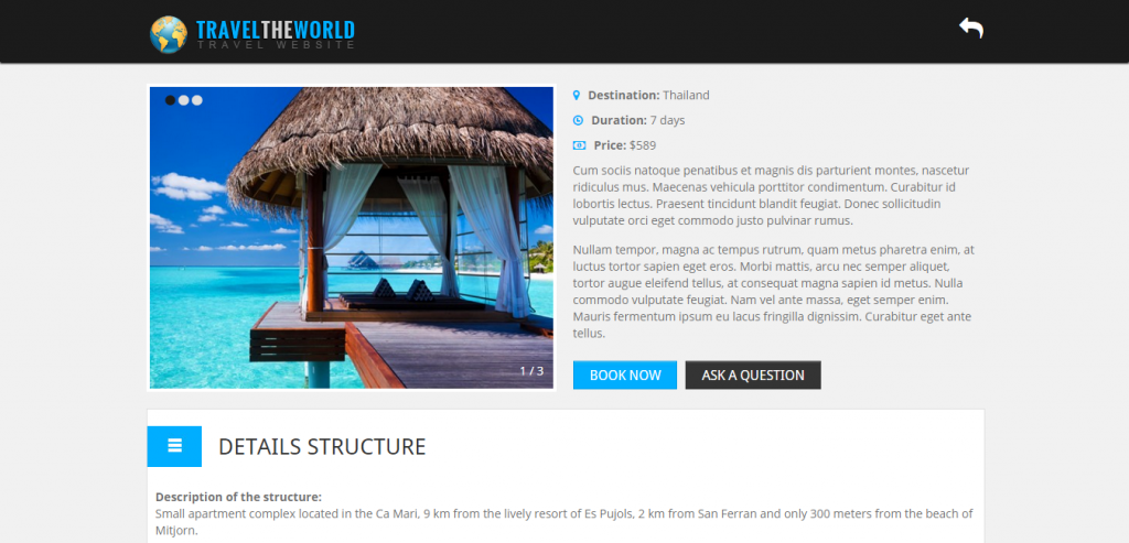 Best Travel HTML Themes