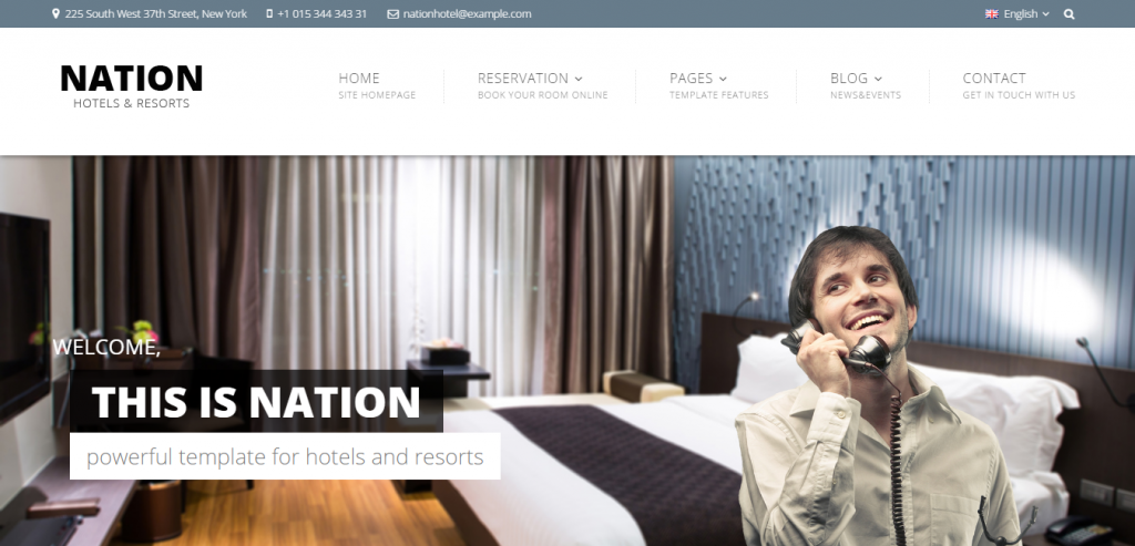 Buy Hotels HTML Template