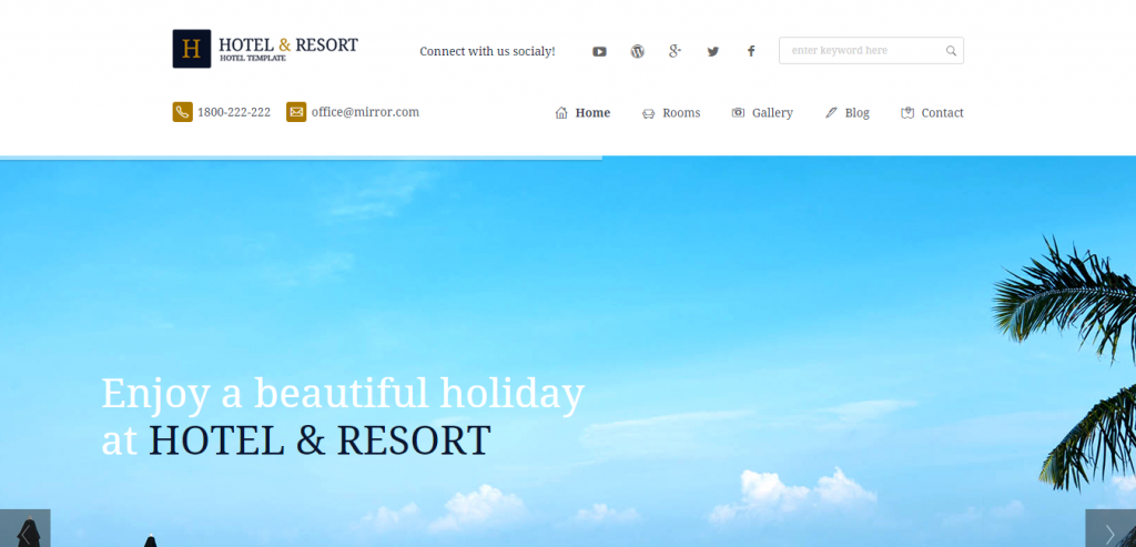 Buy Hotels HTML Templates