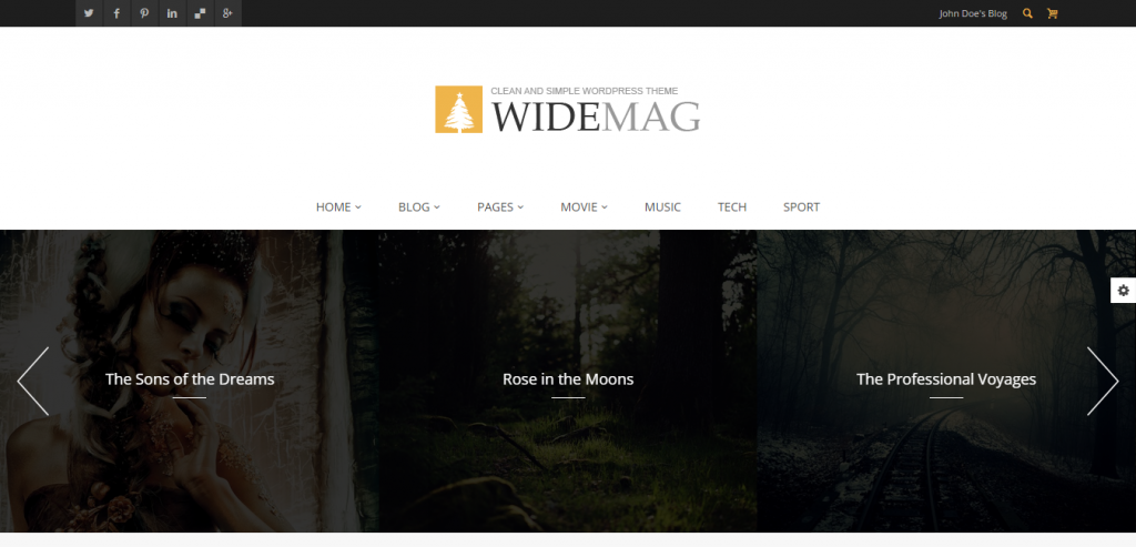 Buy Magazine WordPress Templates