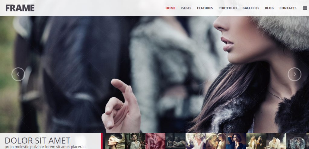 Buy Photography HTML Theme