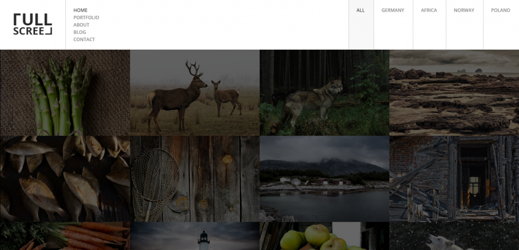 Buy Photography HTML Themes