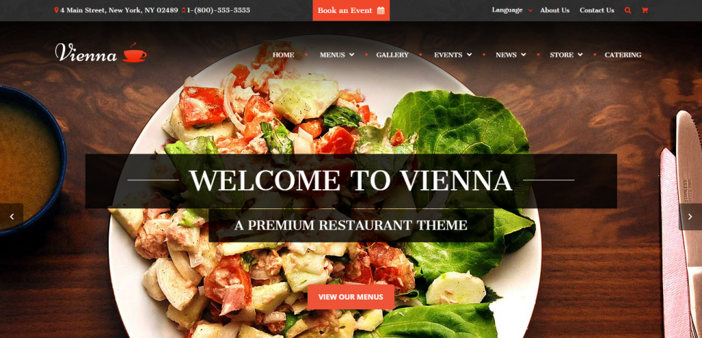 Buy Restaurant HTML Templates