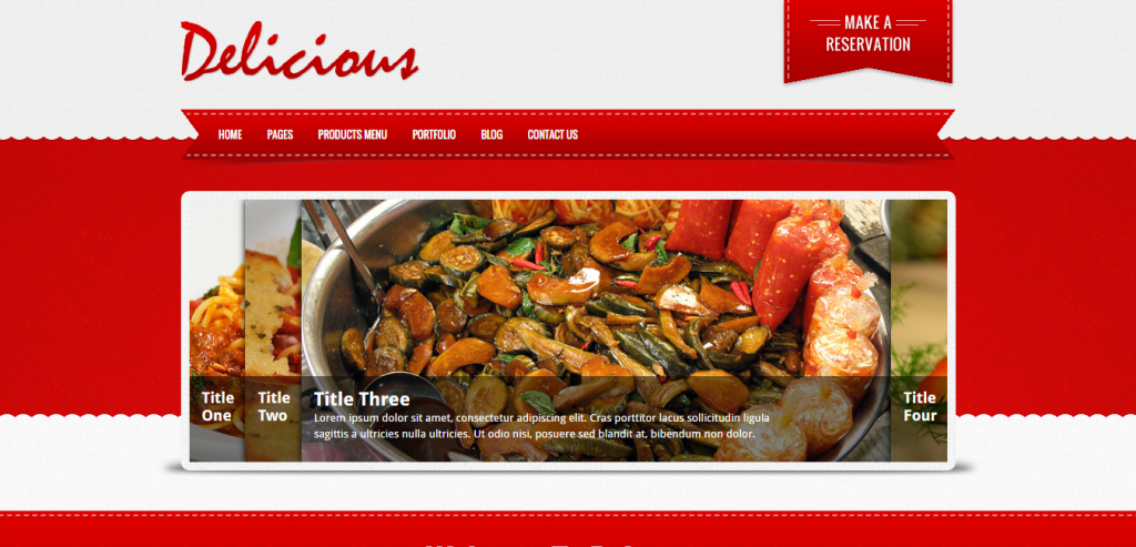Buy Restaurant HTML Themes
