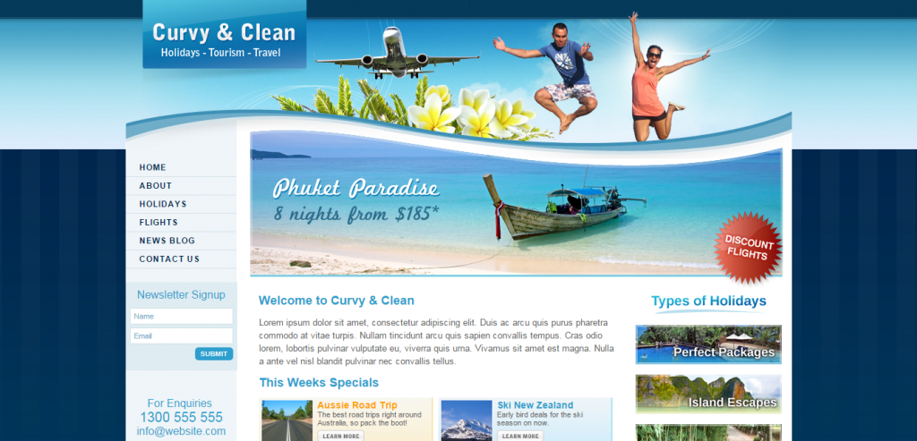 Buy Travel HTML Theme
