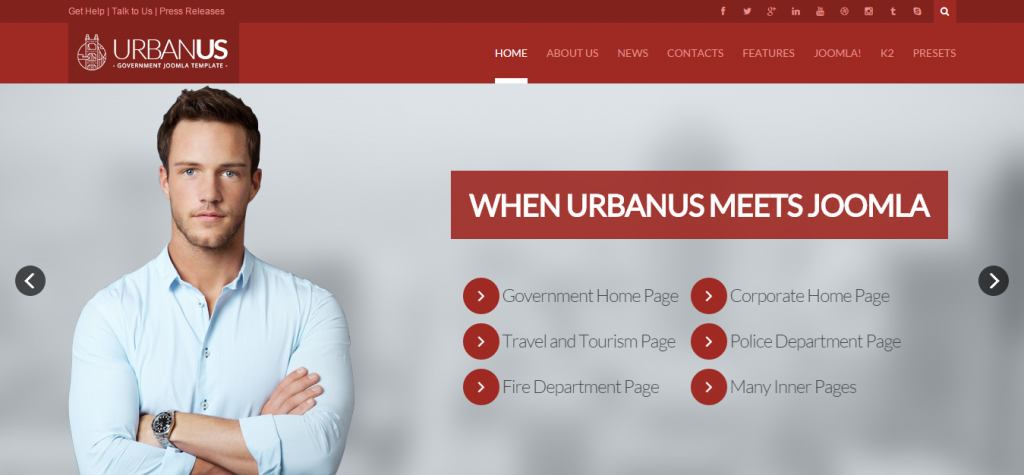 Download Business Joomla Theme