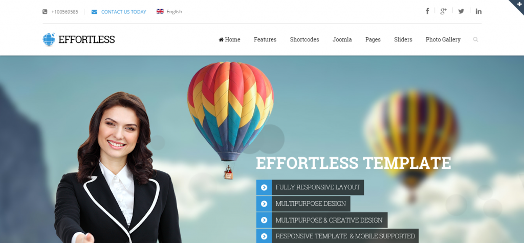 Download Joomla Business Templates
