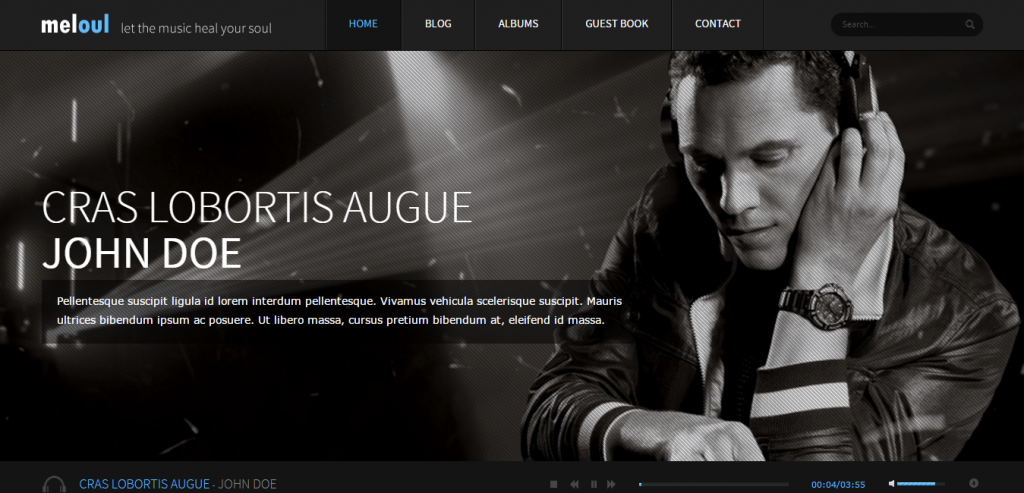 Download Music HTML Themes