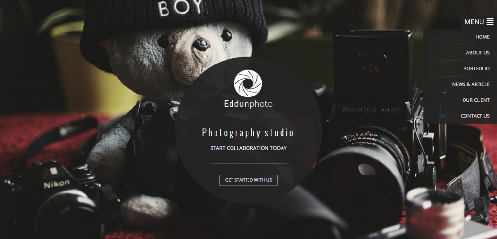 Download Photography HTML Template