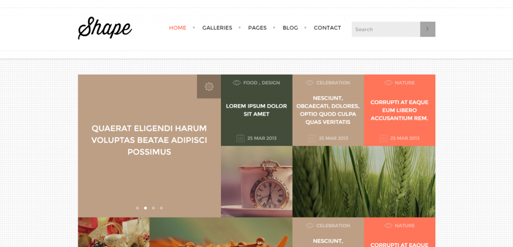 Download Photography HTML Theme